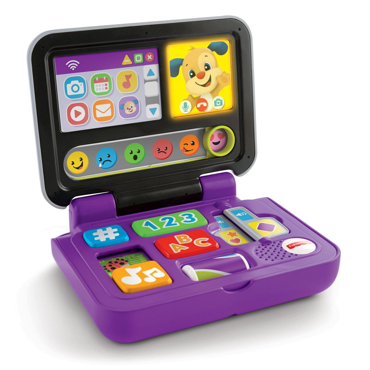 Fisher Price Rie y Aprende Laptop Aprende Conmigo