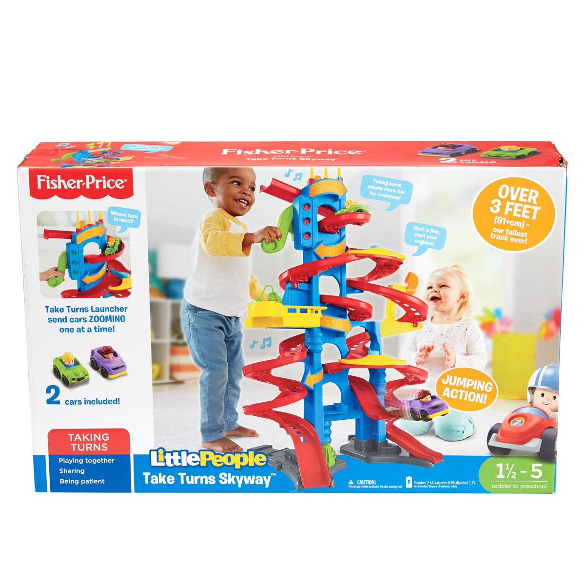 Little People Gran Pista Rascacielos Fisher Price