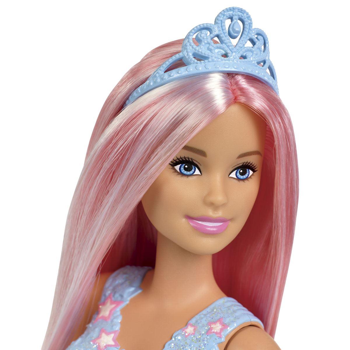 Barbie Princesa Peinados Mágicos