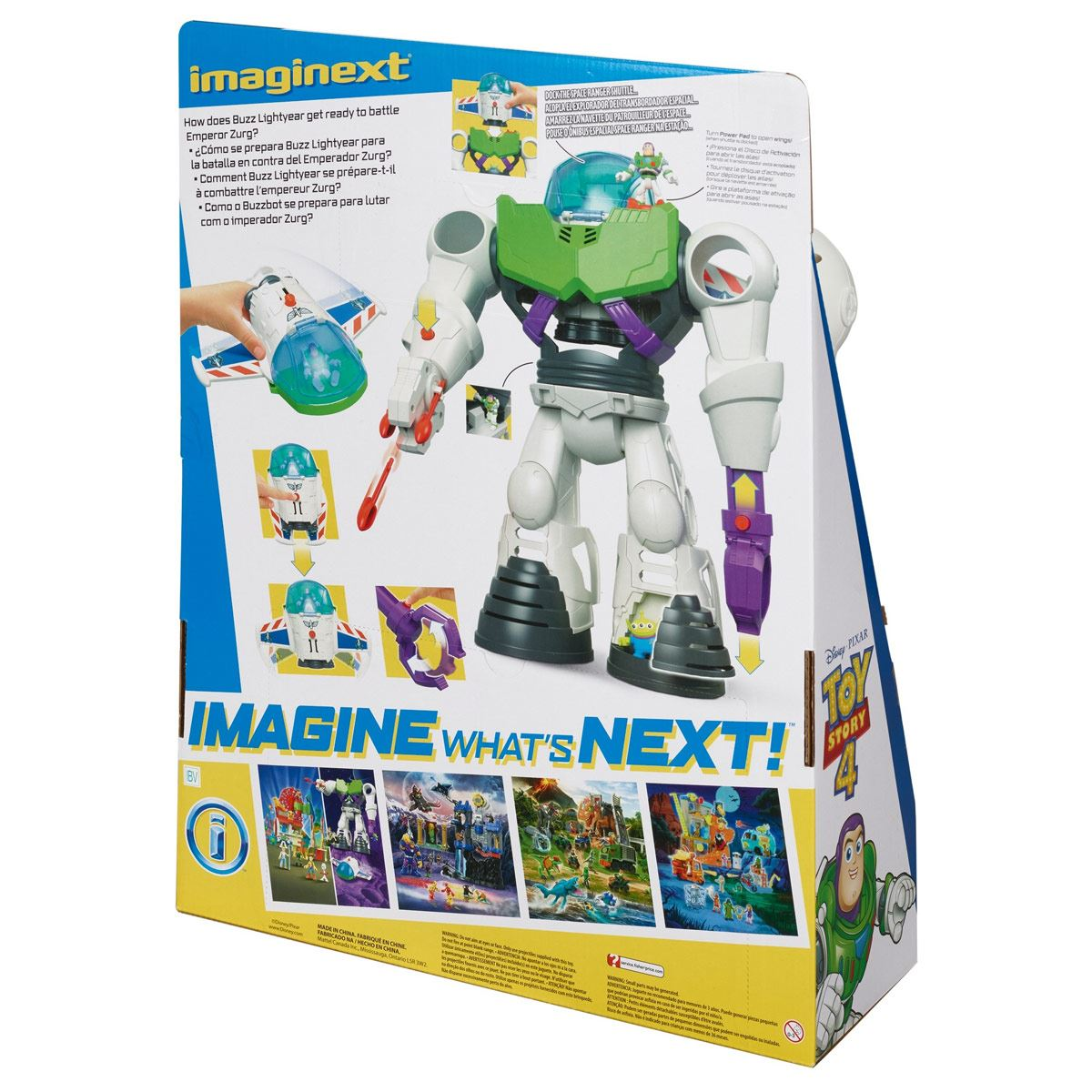 Imaginext Toy Story 4 Buzz-Bot Fisher-Price