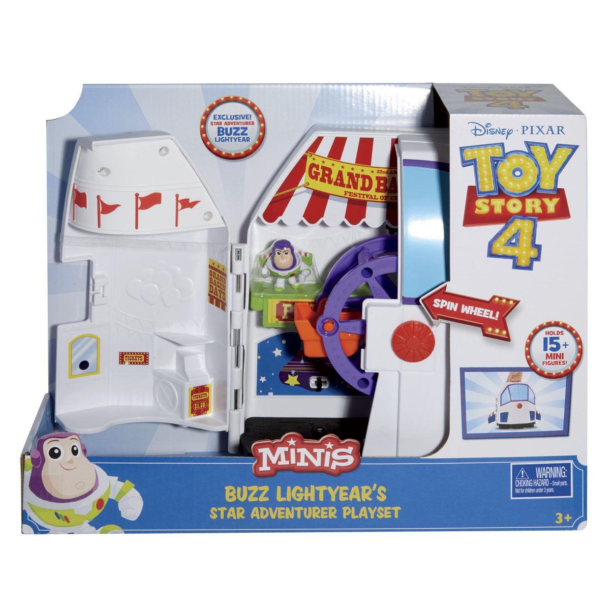 Toy Story Mini Carnaval Set De Juego