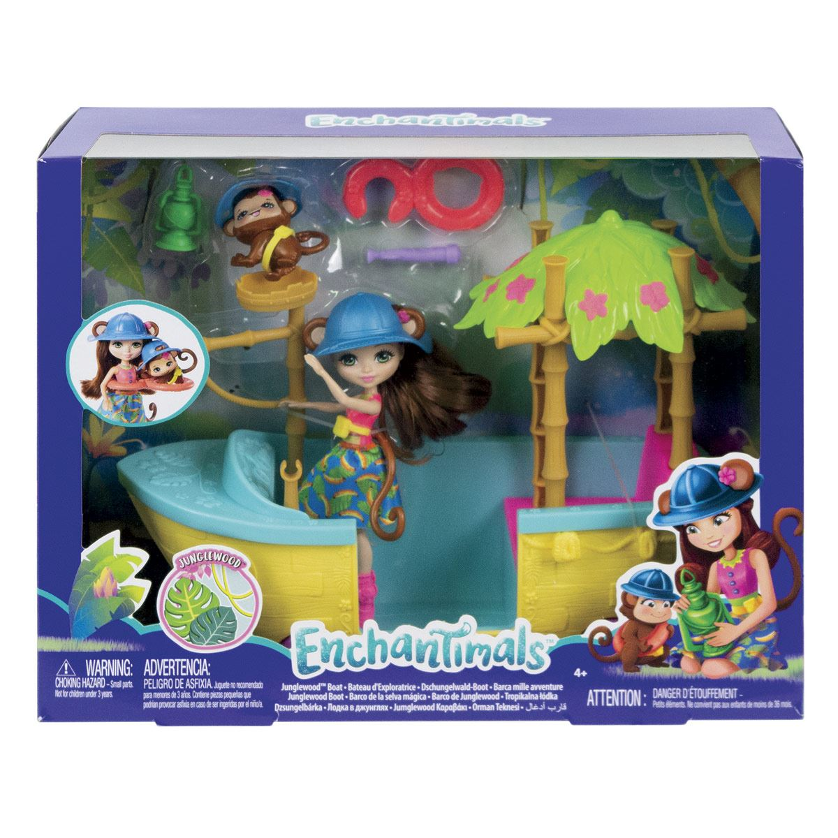 Enchantimals Aventuras En La Jungla