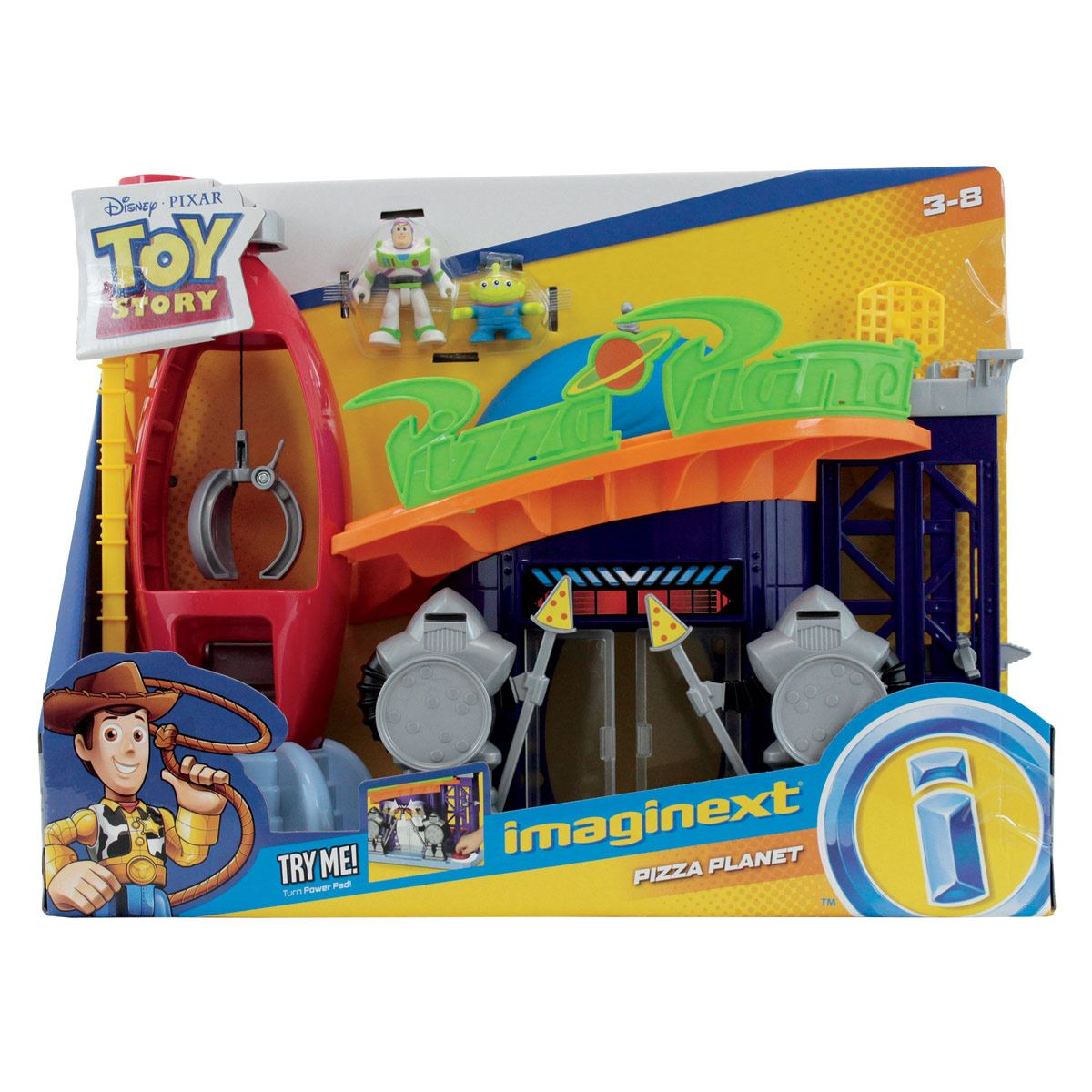 F-P Imaginext toy story pizza planet Fisher Price