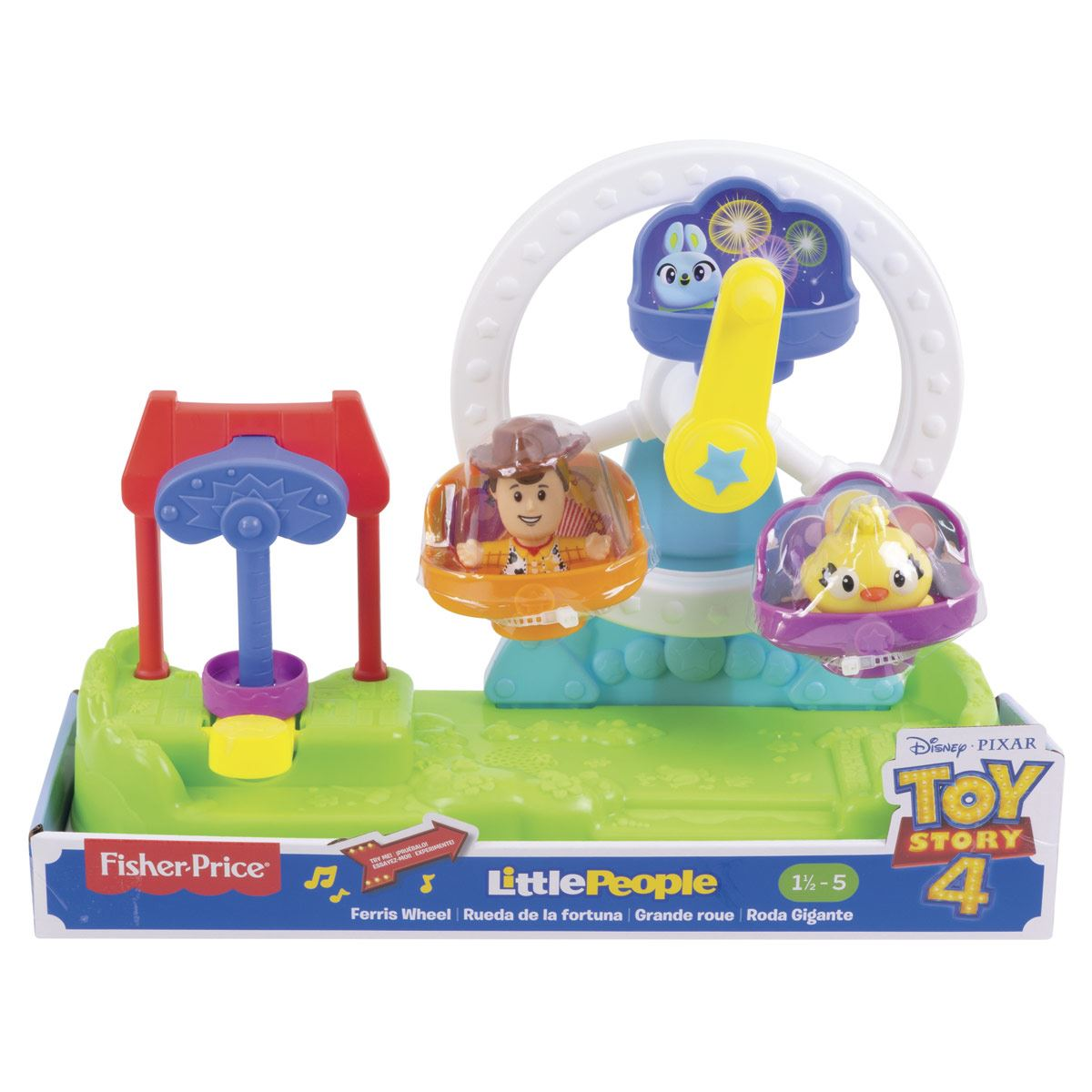 Fisher Price Little People Toy Story 4 Noria