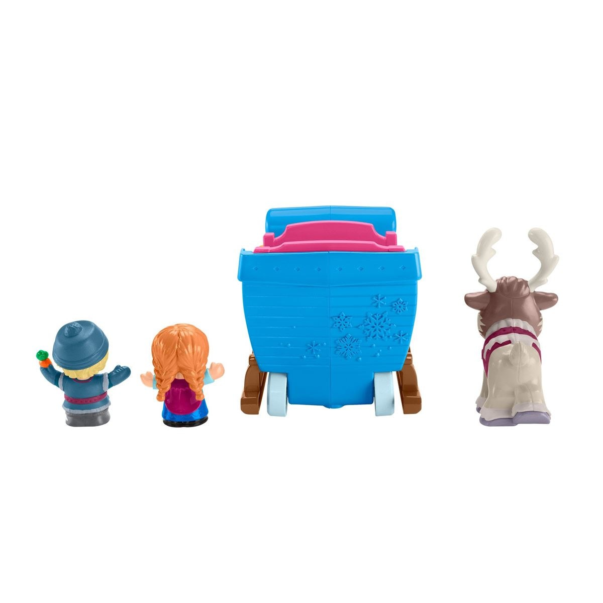 Little People El Trineo De Kristoff Fisher-Price