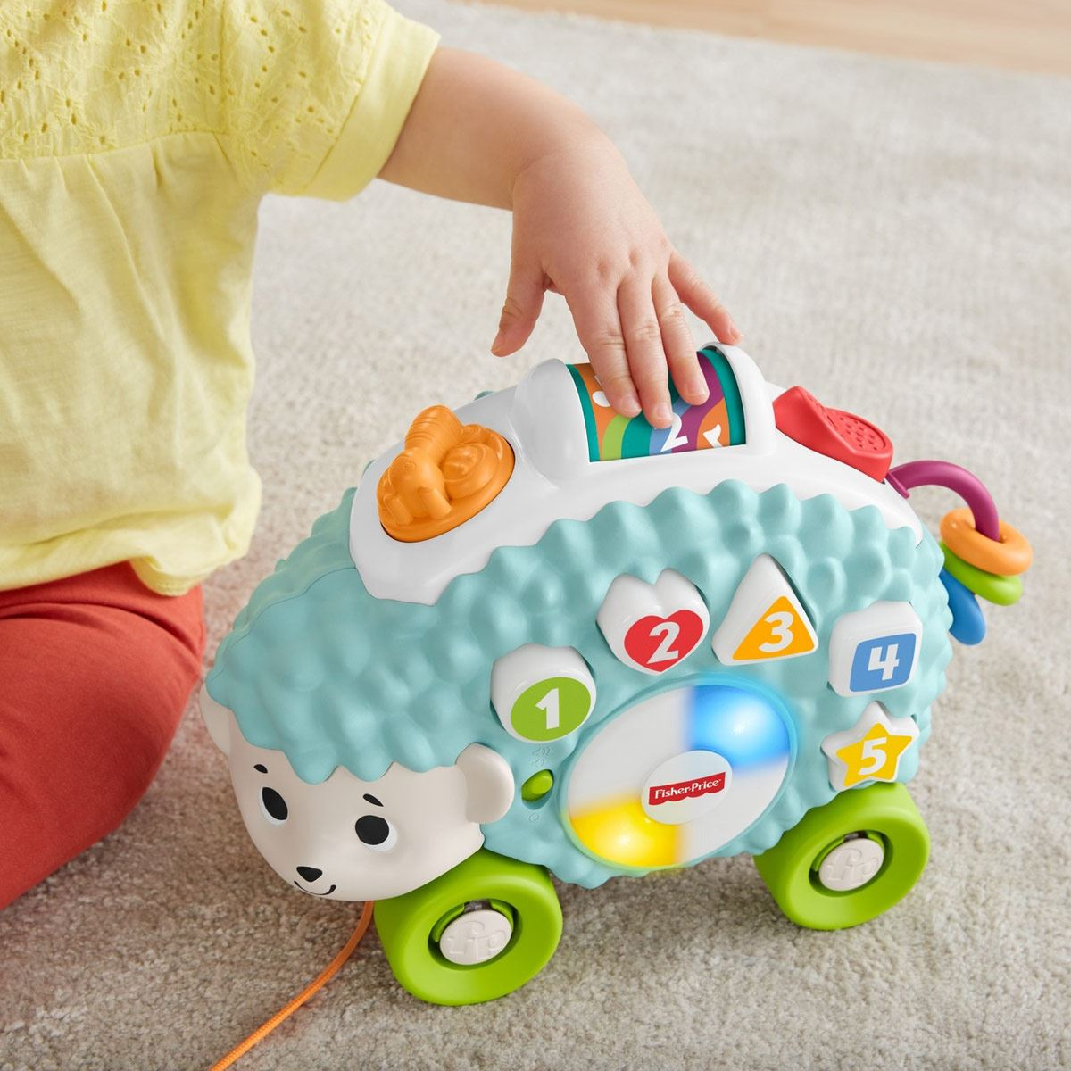 Linkimals Erizo Formas Luminosas Fisher-Price