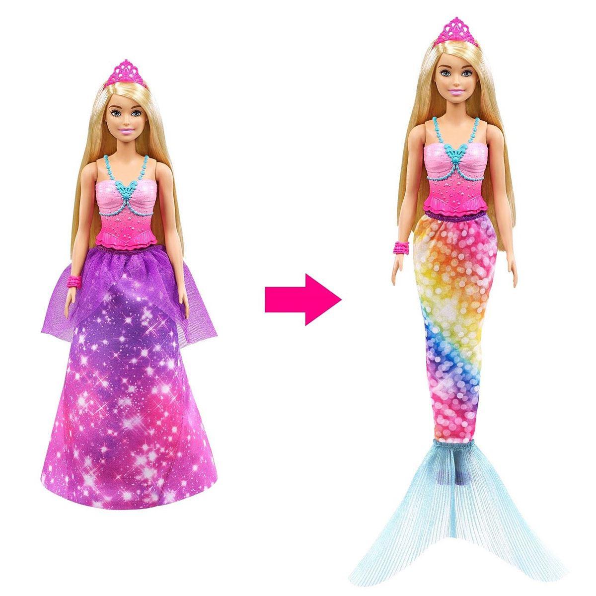 Barbie Dreamtopia Princesa 2 en 1