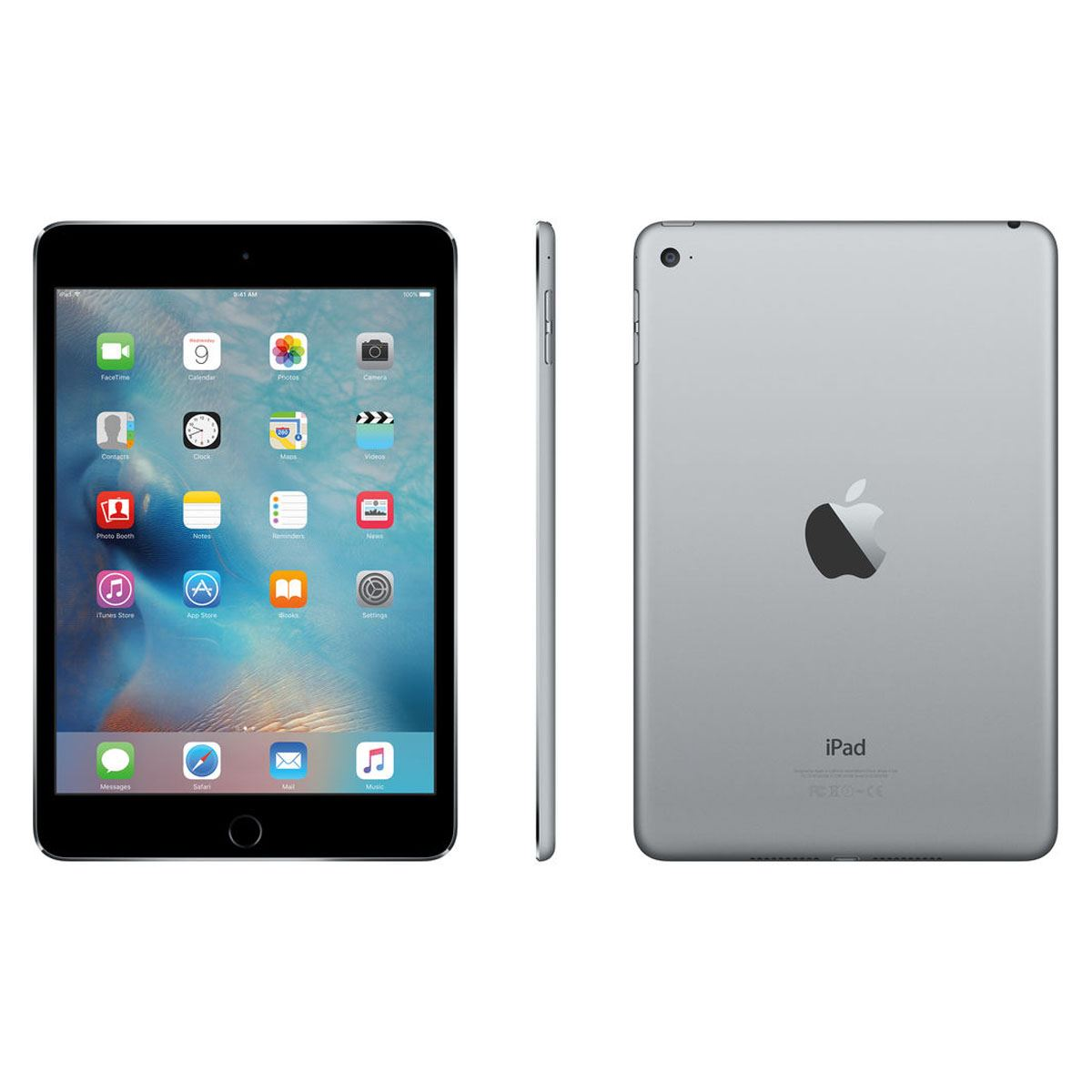 Ipad mini 4 wi-fi 128gb space gray  - Sanborns