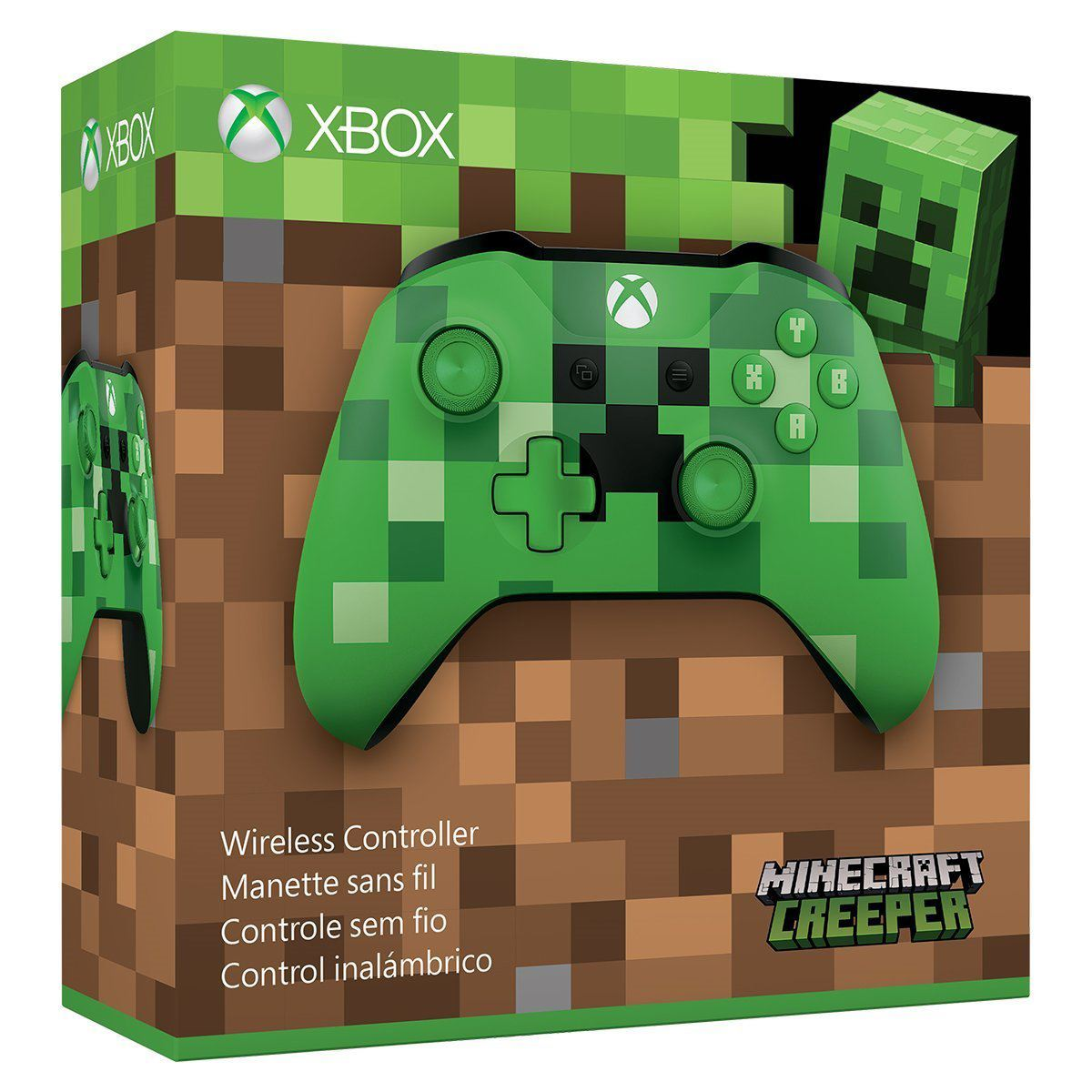 Control xbox one minecraft creeper  - Sanborns