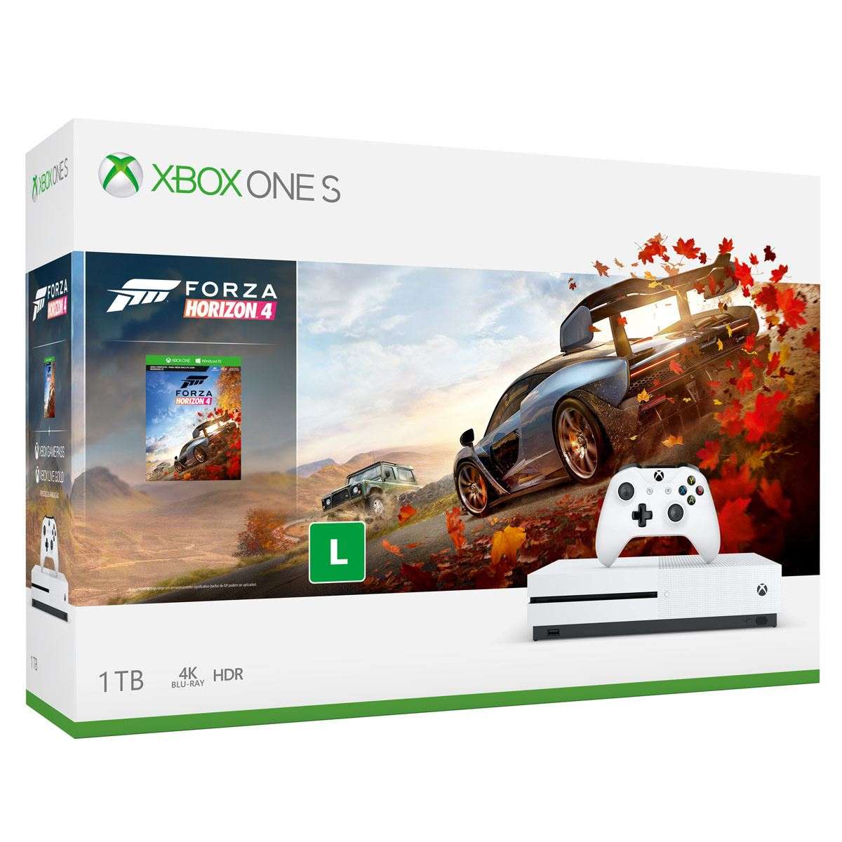 consola xbox one s1 tb forza horizon 4 sanborns. Black Bedroom Furniture Sets. Home Design Ideas