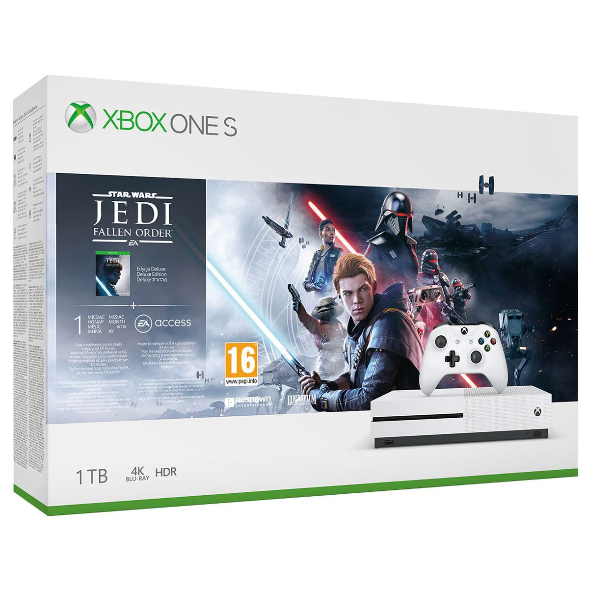 Consola Xbox One S 1TB Star Wars Jedi