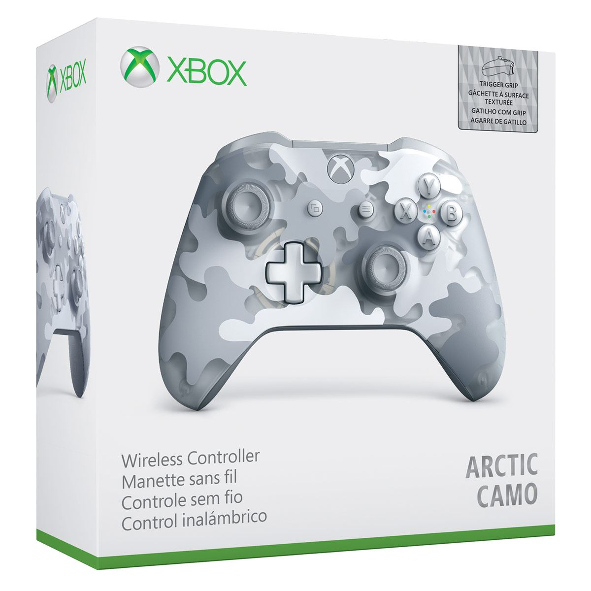 Control Xbox One Wireless Artic Camo S