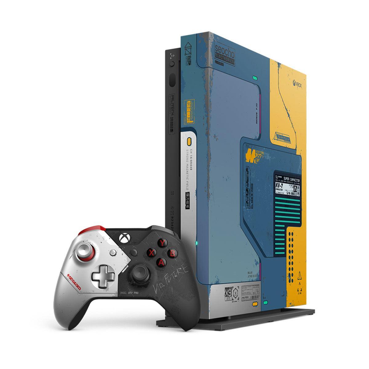 Consola Xbox One X 1TB Cyberpunk 2077