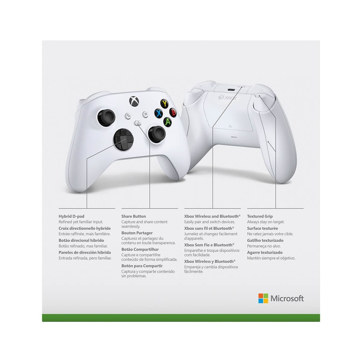 Control Xbox Series X Inalámbrico Blanco
