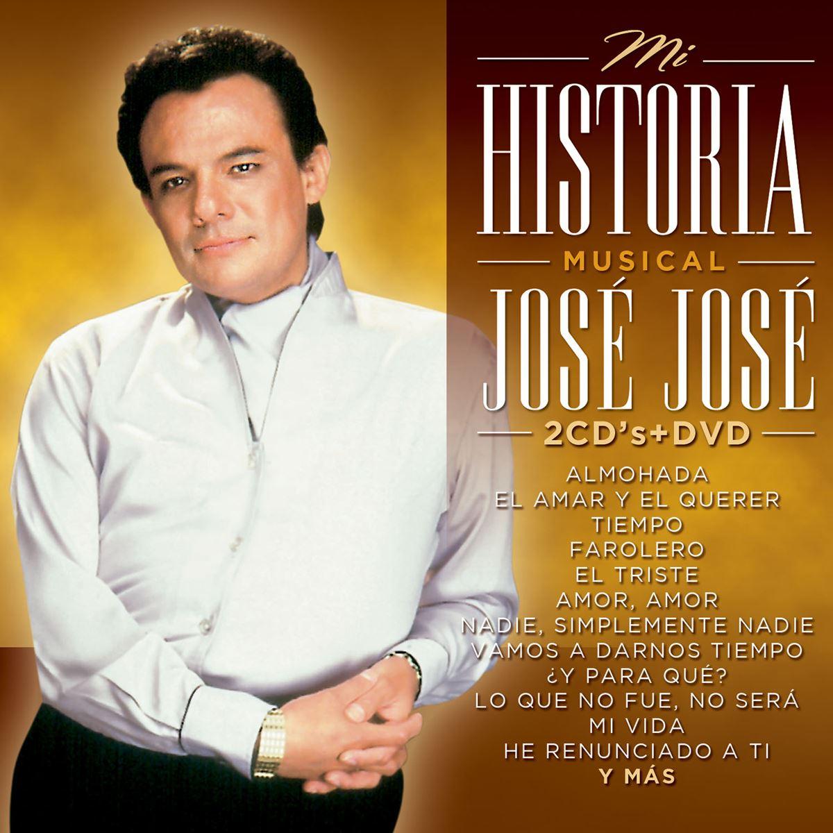 Cd josé josé mi historia musical  - Sanborns