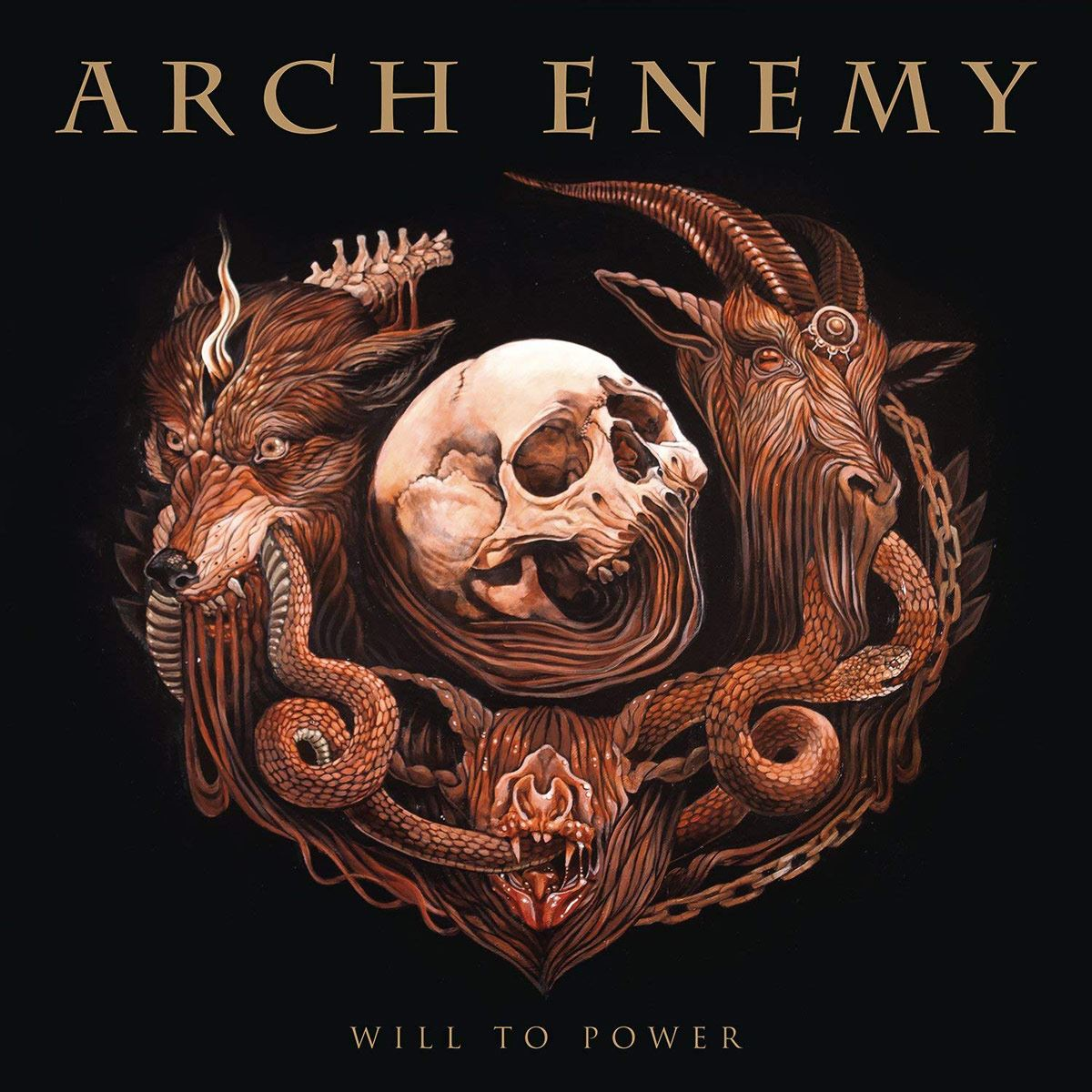 CD Arch Enemy-Will to Power
