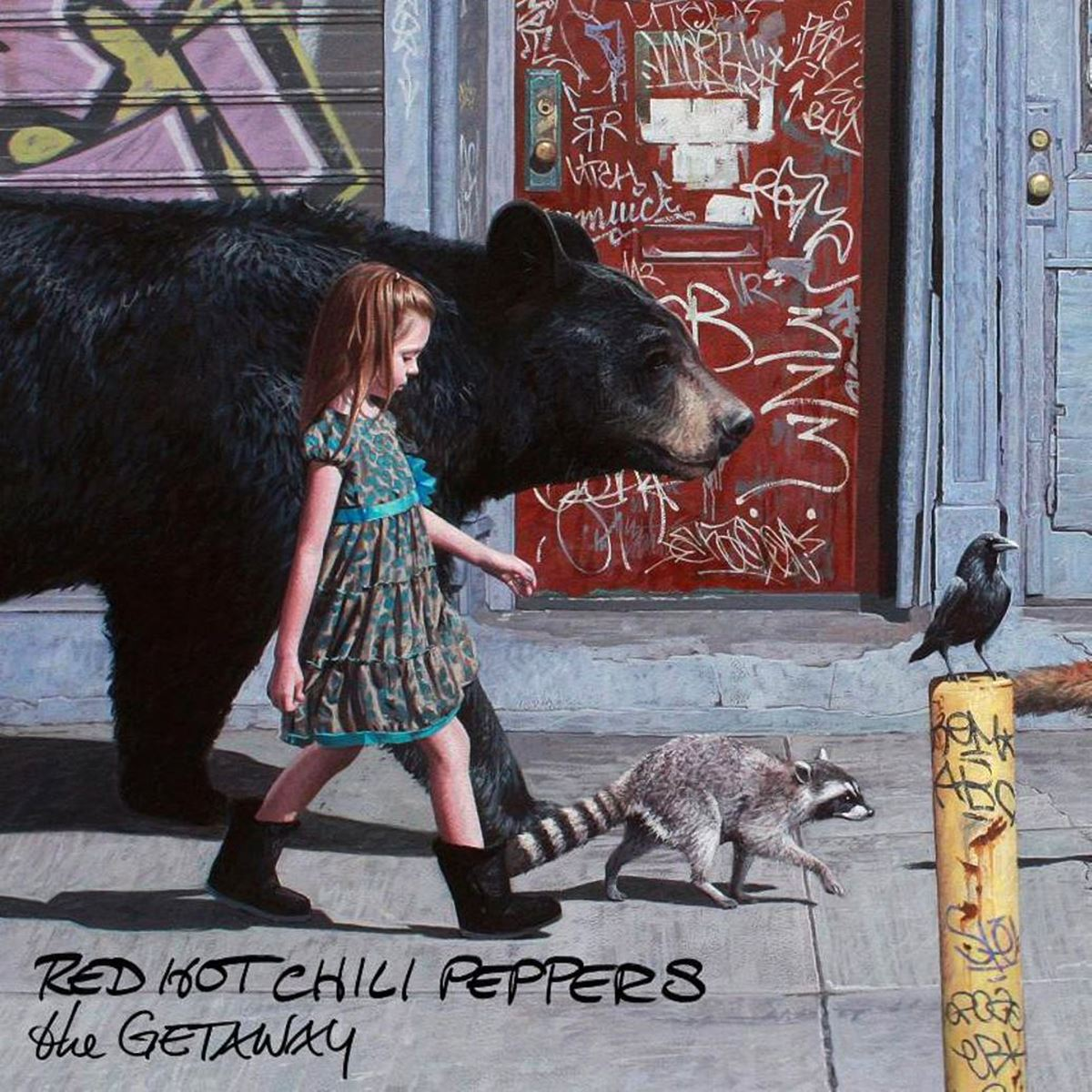 CD Red Hot Chili PeppersThe Getaway