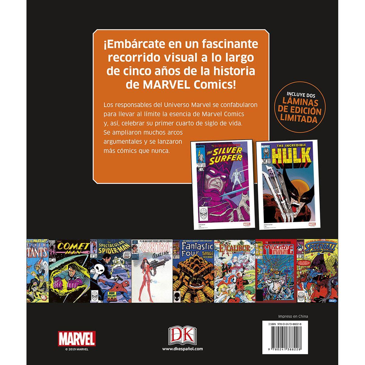 1985-1989 Marvel La Historia Visual: Empieza Un Nuevo Orden