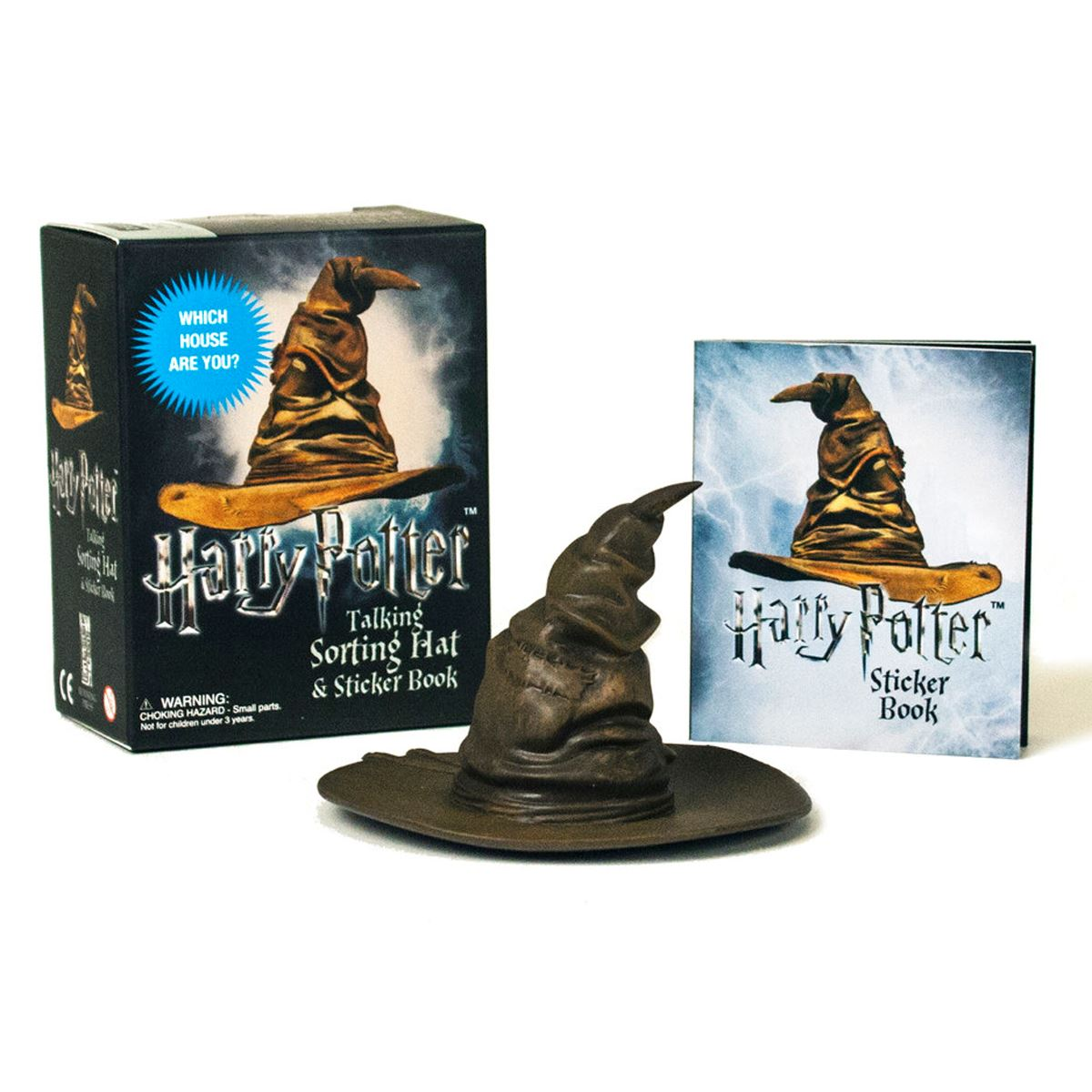 Harry potter talking sorting hat and sticker book: which house are you? Libro - Sanborns