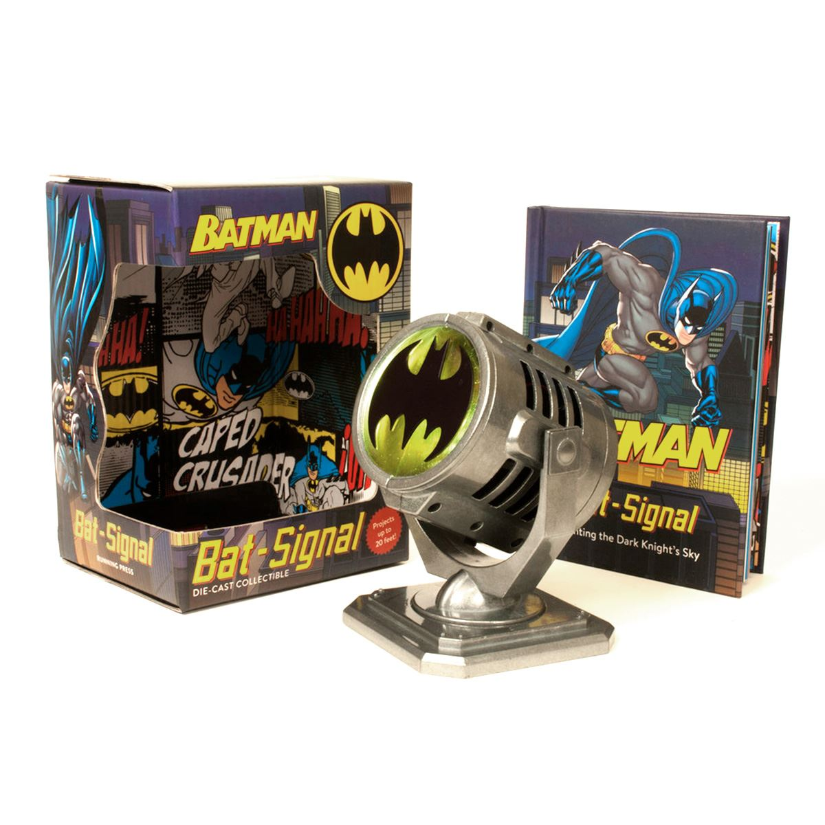 Comic batman metal die-cast bat-sig Libro - Sanborns