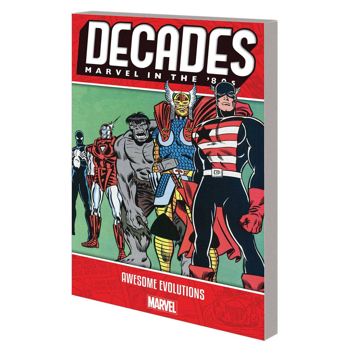 Comic decades Marvel in the 80´s