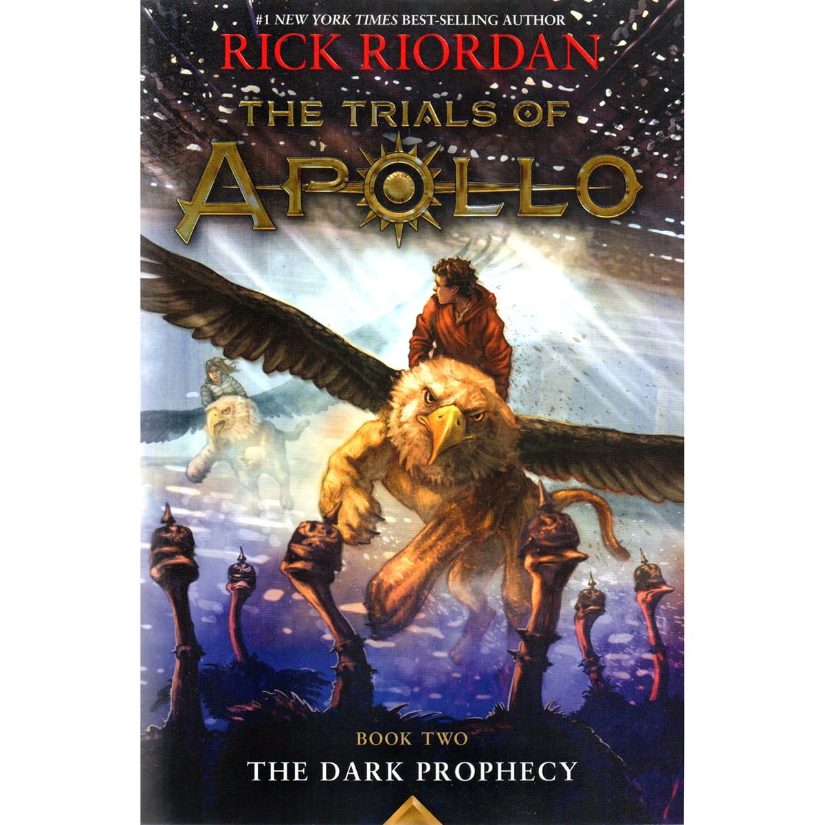 The dark prophecy: the trials of apollo, book two Libro - Sanborns