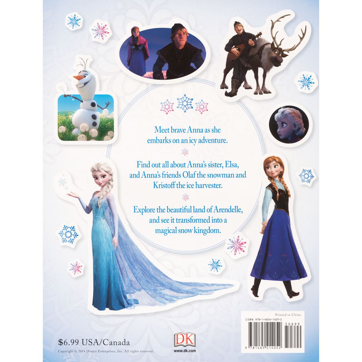 Ultimate sticker book: frozen Libro - Sanborns
