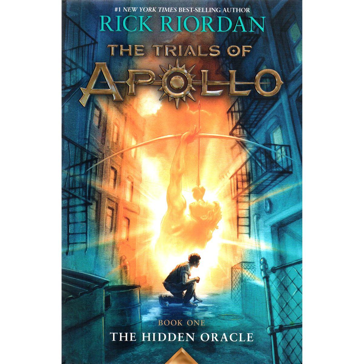 The hidden oracle: the trials of apollo, book one Libro - Sanborns