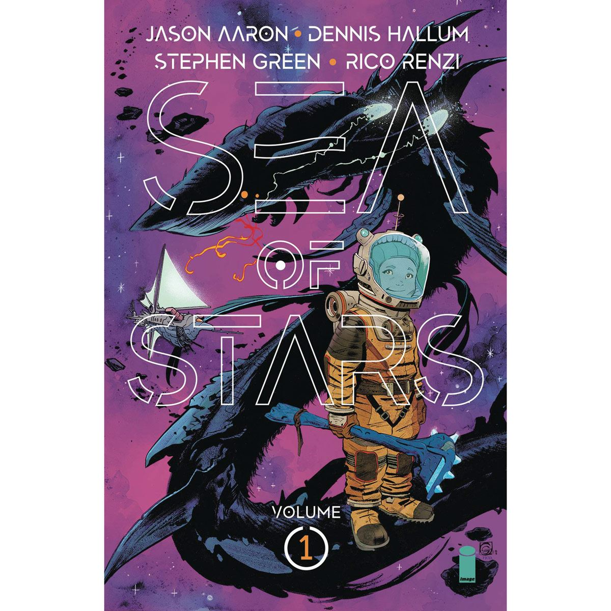 Comic sea of stars volume 1