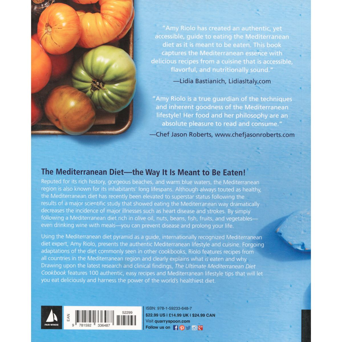 The ultimate mediterranean diet cookbook Libro - Sanborns