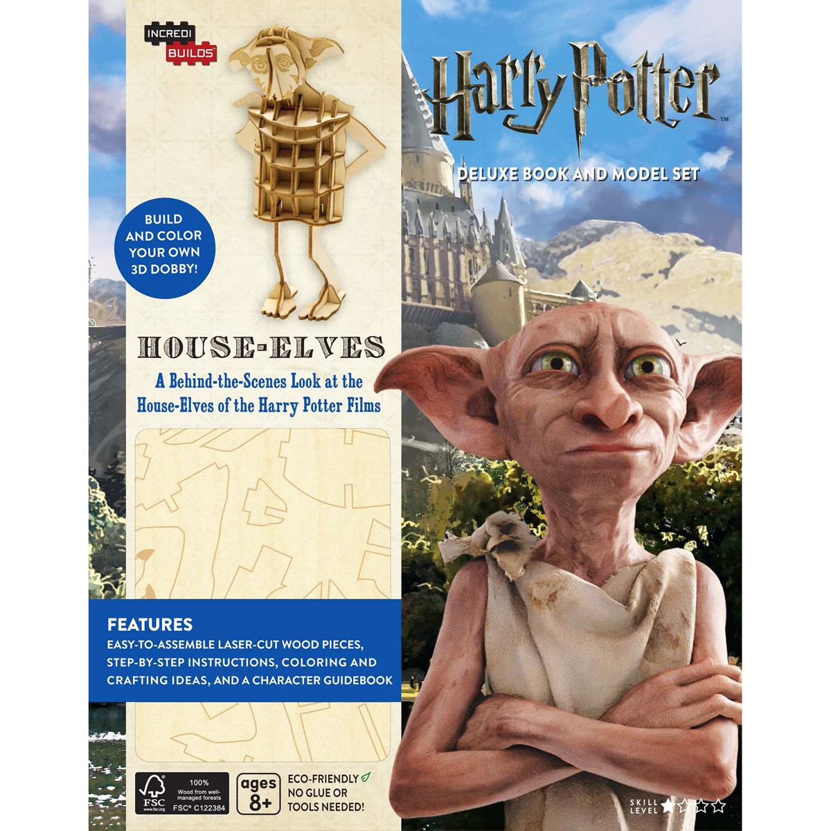 Incredibuilds harry potter house Libro - Sanborns