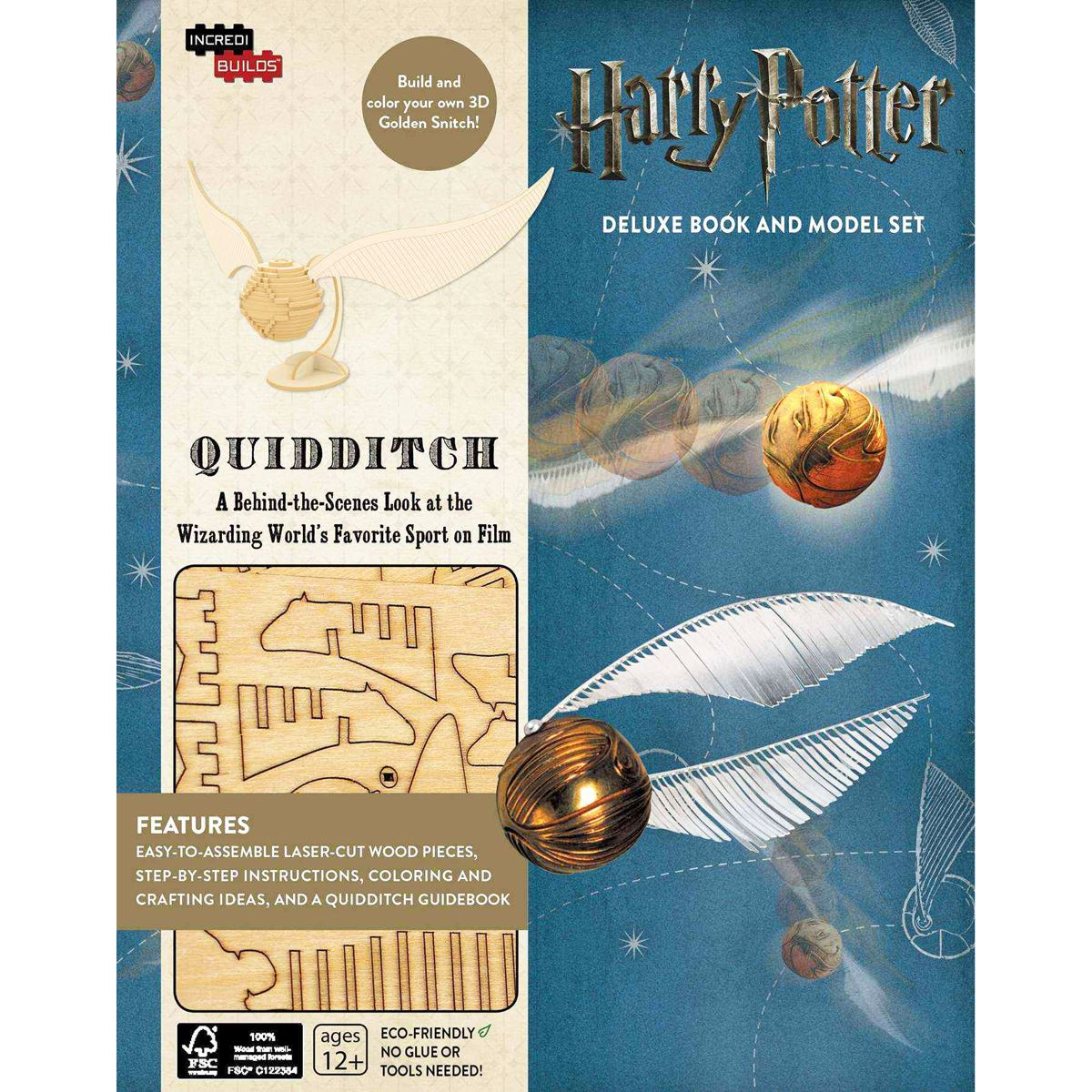 Incredibuilds harry potter quiddich Libro - Sanborns