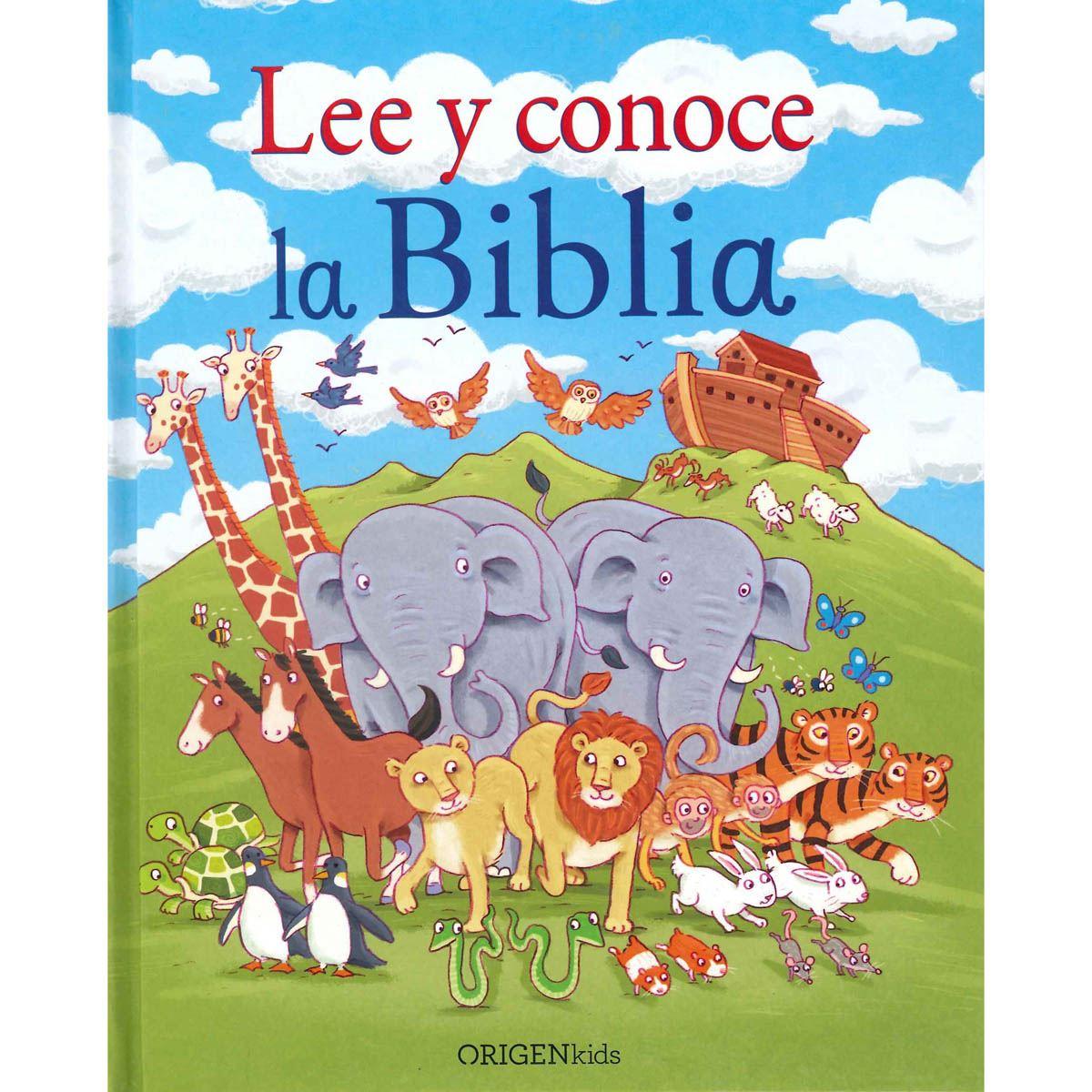 Lee y conoce la biblia