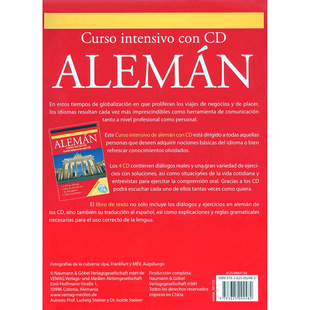 Alemán Curso Intensivo con CD
