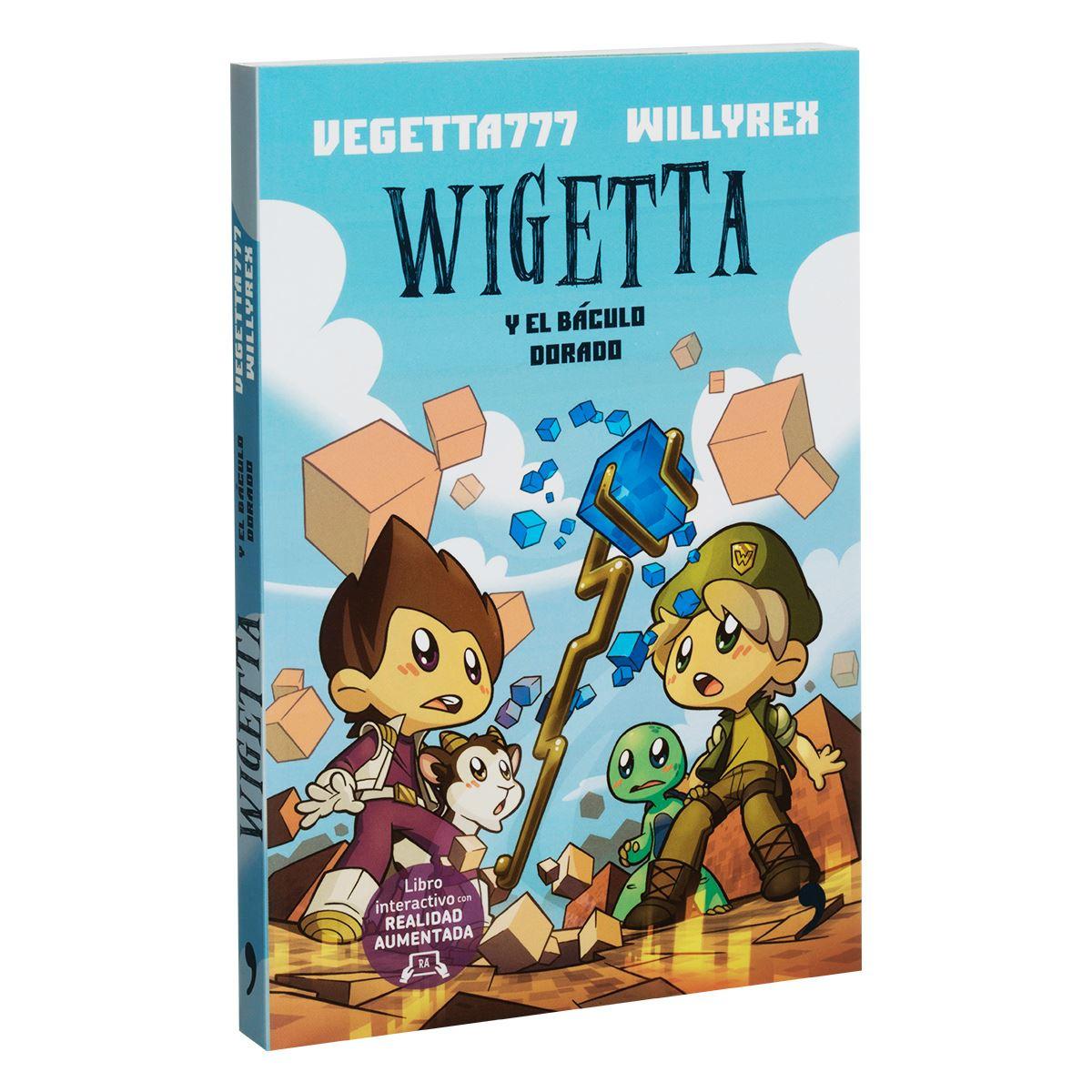 Wigetta y el báculo dorado Libro - Sanborns
