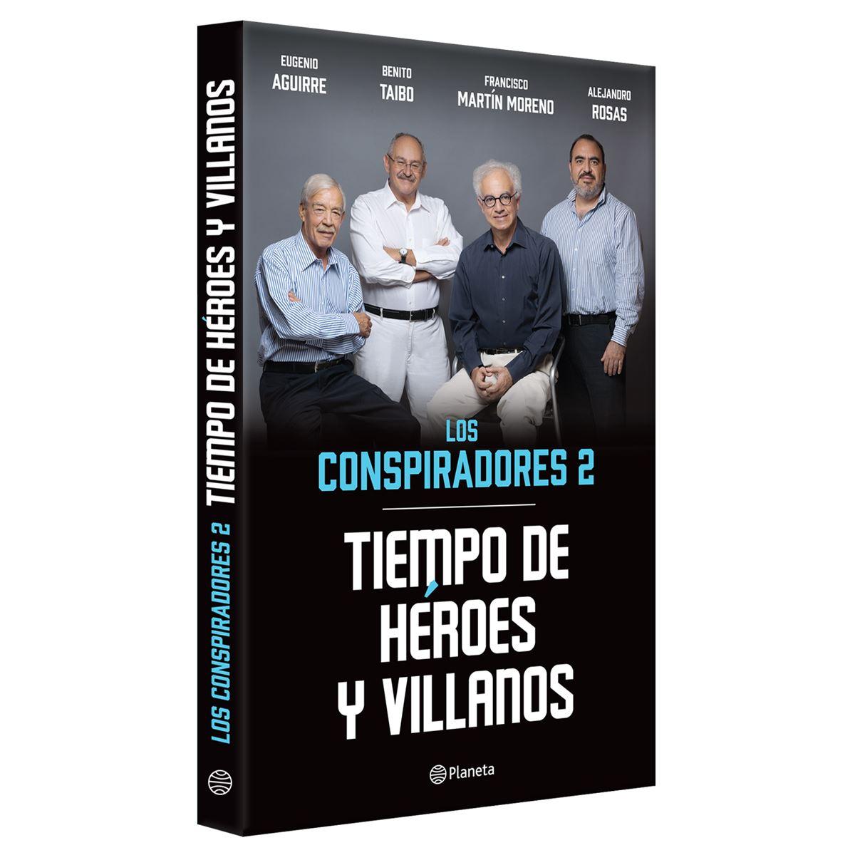 Los conspiradores 2 ( tiempo de héroes y villanos ) Libro - Sanborns