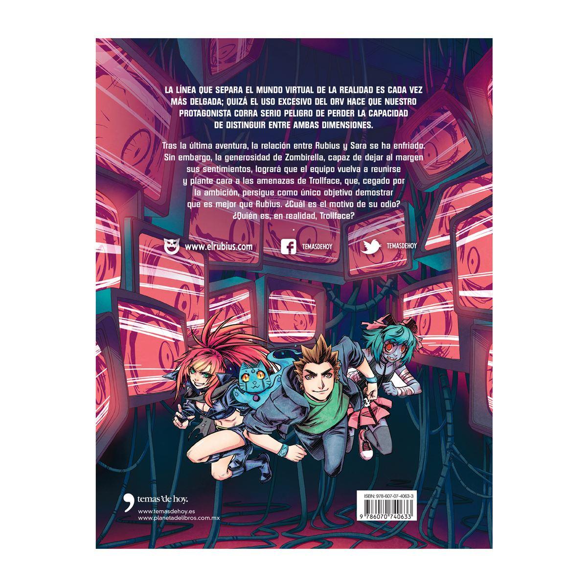 Virtual hero 3. la máscara del troll Libro - Sanborns