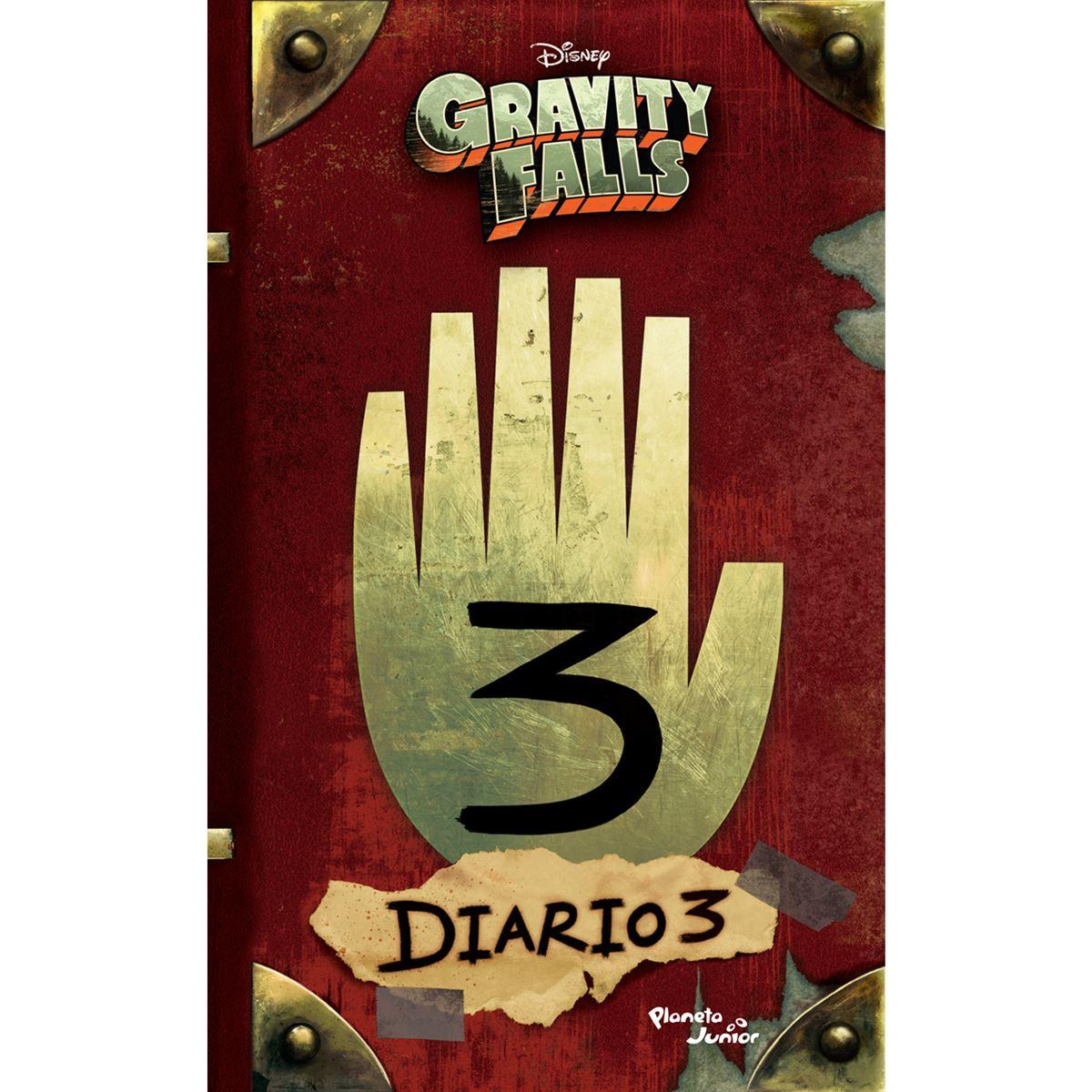 Gravity Falls Diario 3 Libro Sanborns