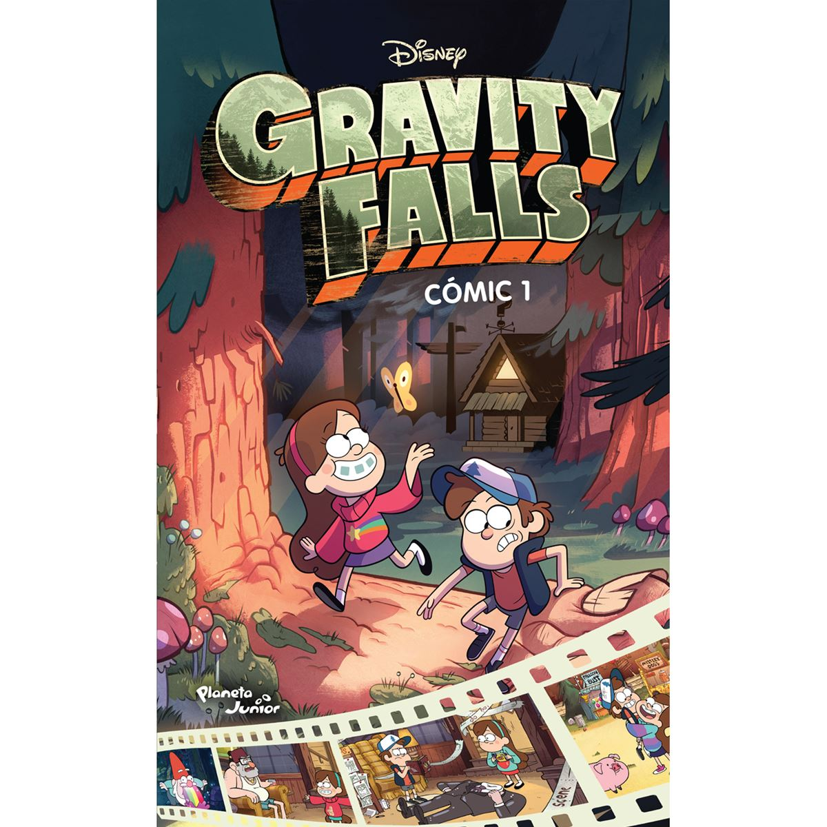 Gravity falls. cómic 1 Libro - Sanborns