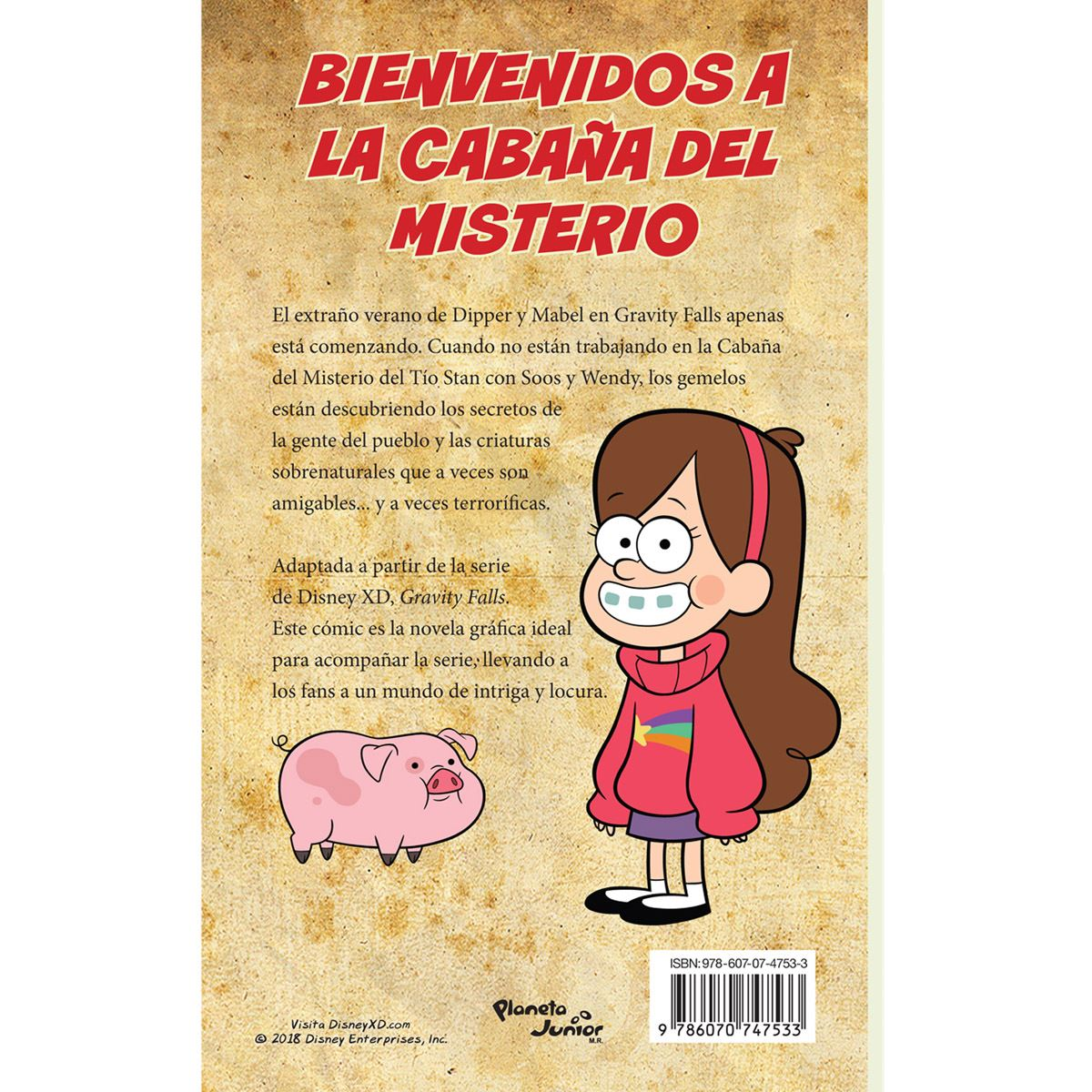 Gravity falls. cómic 2 Libro - Sanborns
