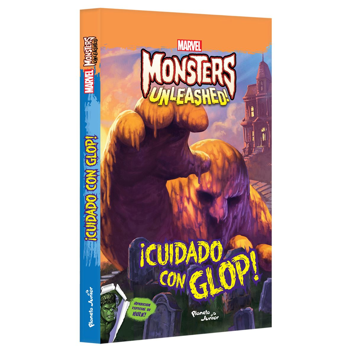 Monsters unleashed. ¡cuidado con glop! Libro - Sanborns