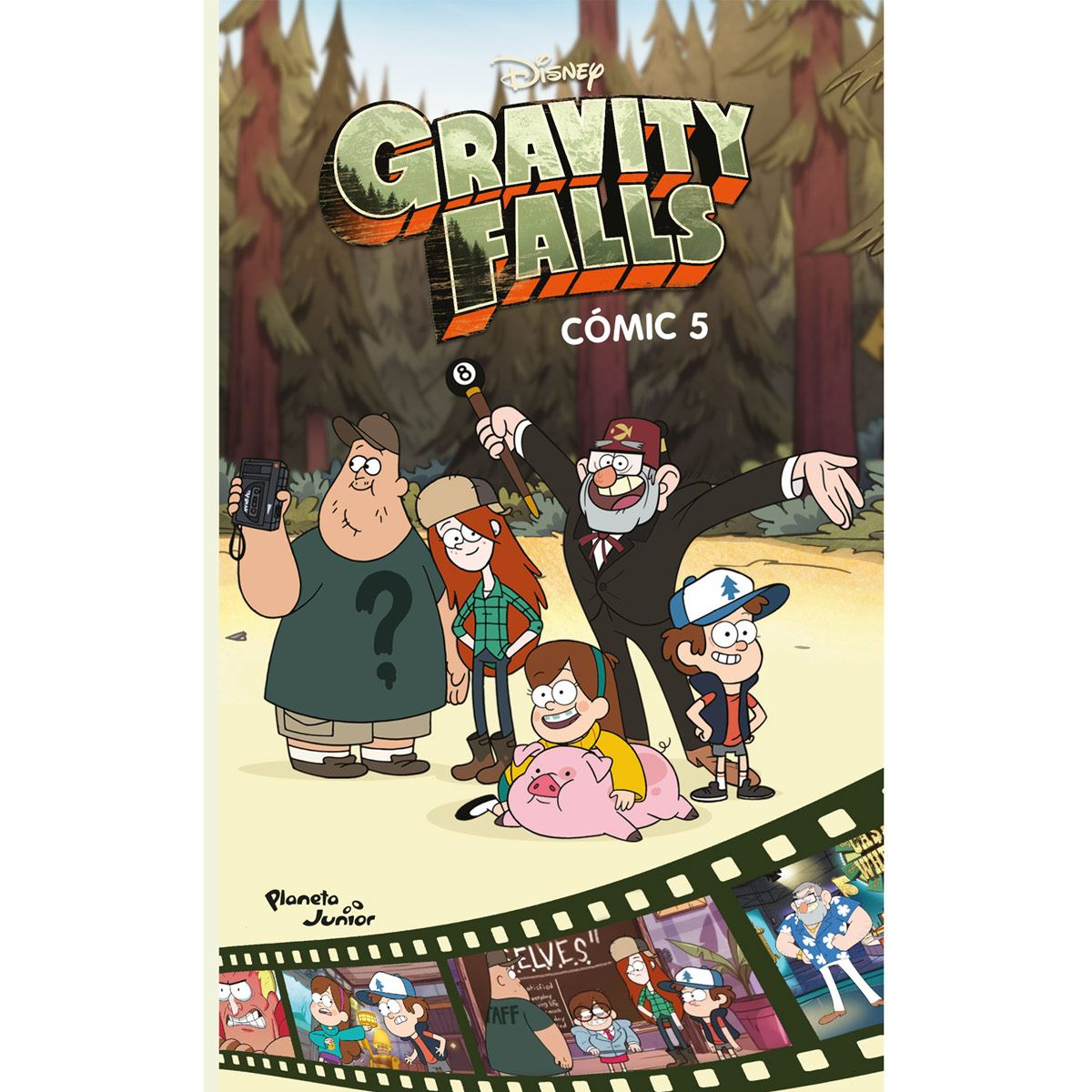 Gravity falls. Cómic 5