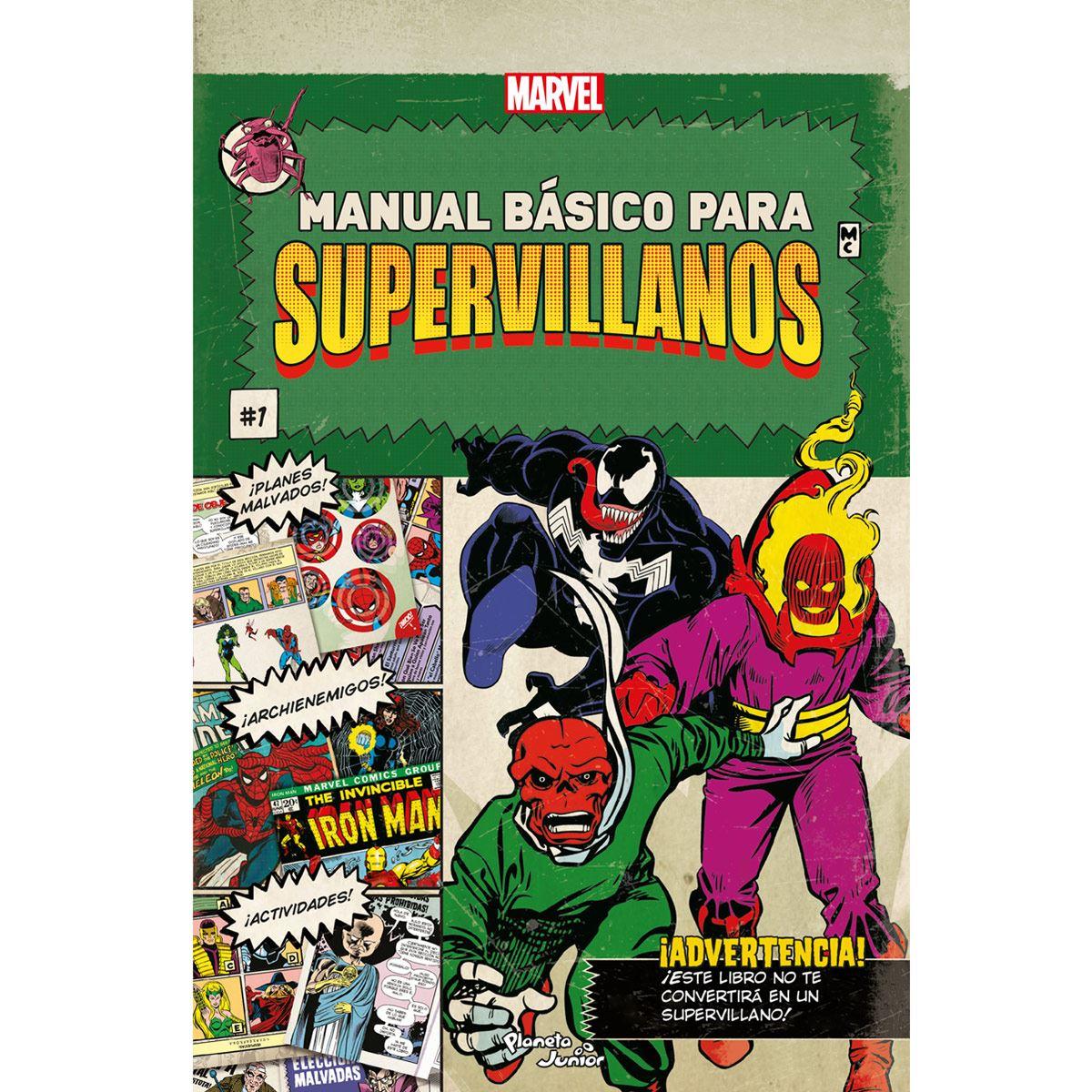 Manual básico para Supervillanos