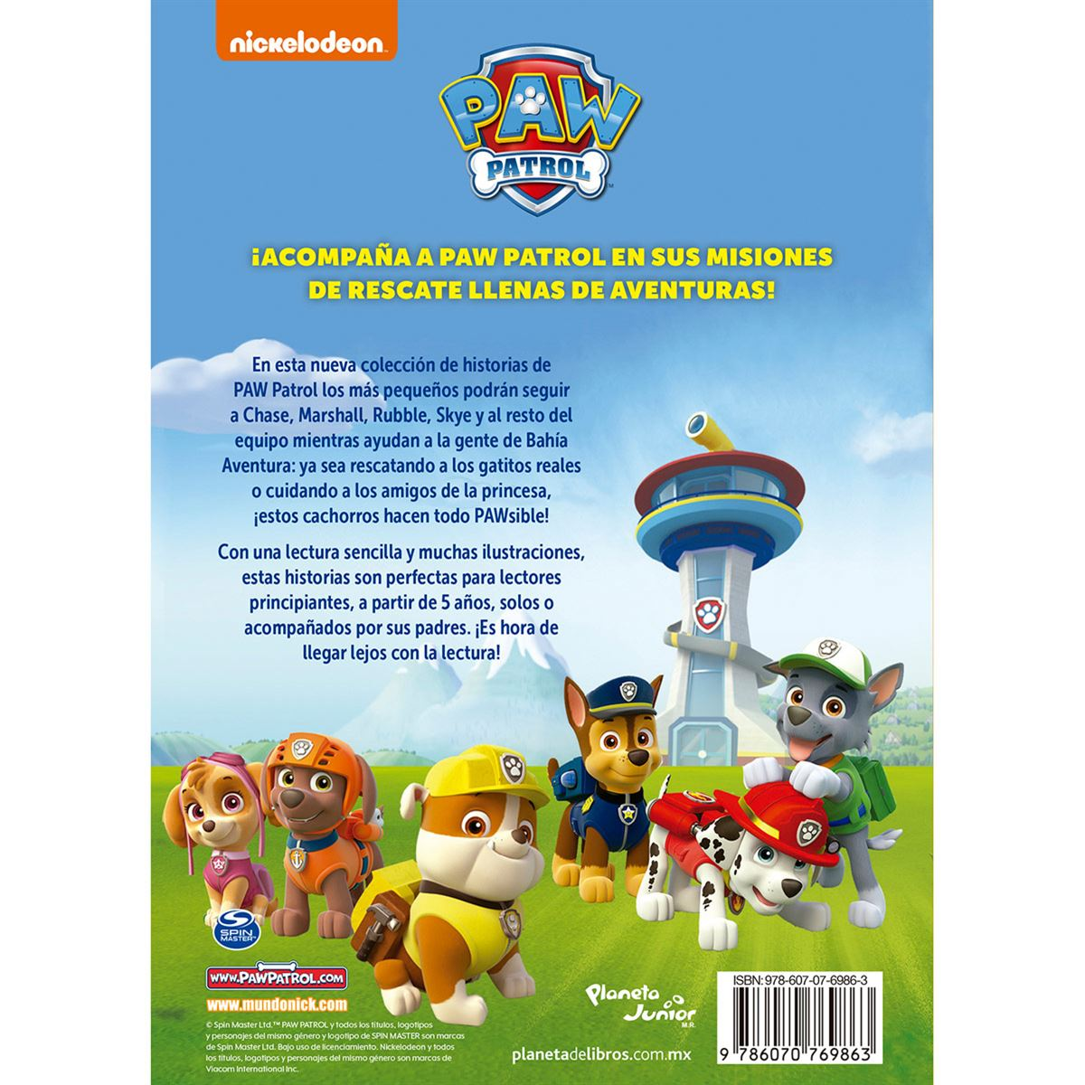 Paw Patrol ¡Rescate real!