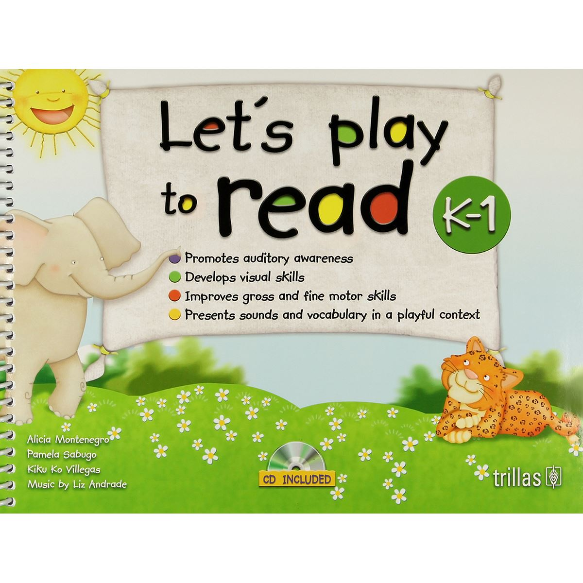 LetS Play To Read K-1. Cd Included