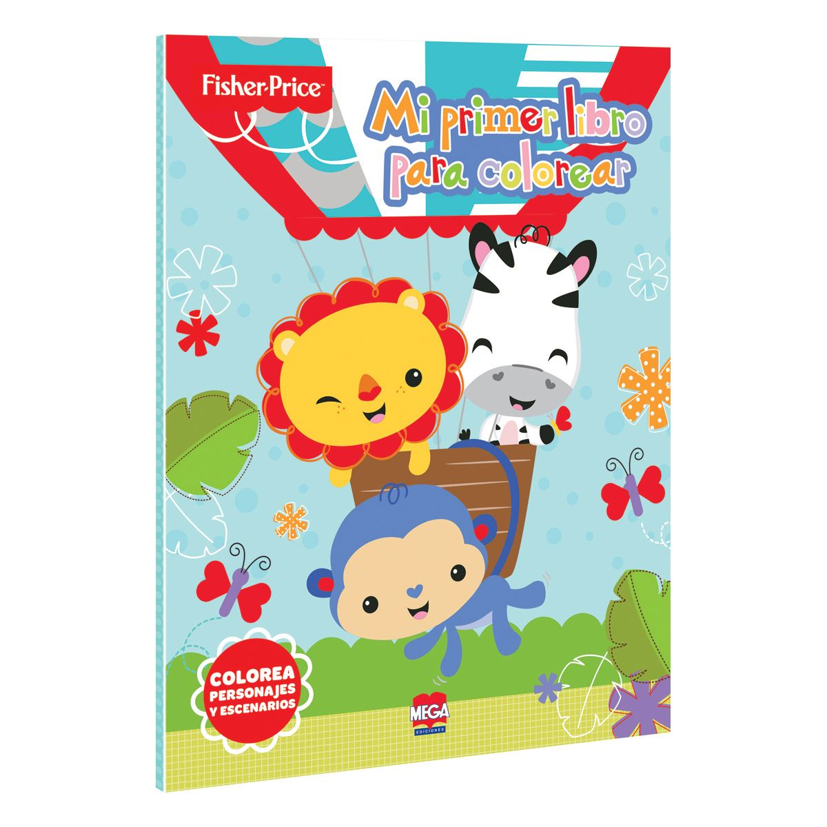 Fisher Price / Mi primer Libro para colorear