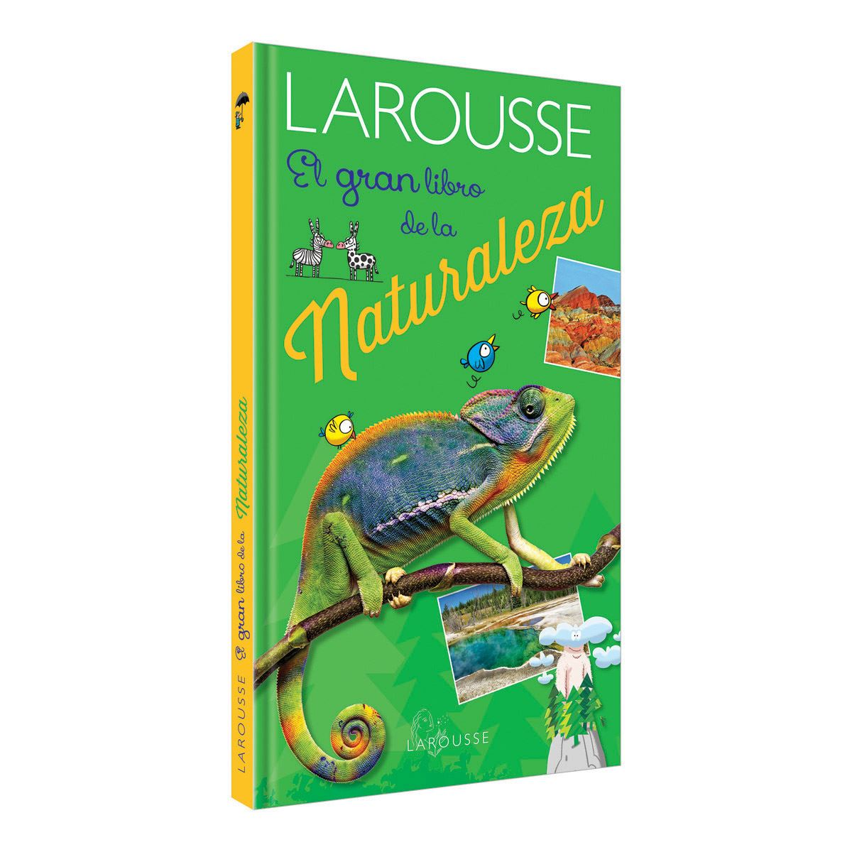 El gran libro de la naturaleza Libro - Sanborns