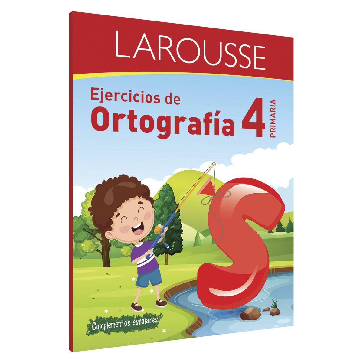 Ejercicios de Ortografía 4° primaria