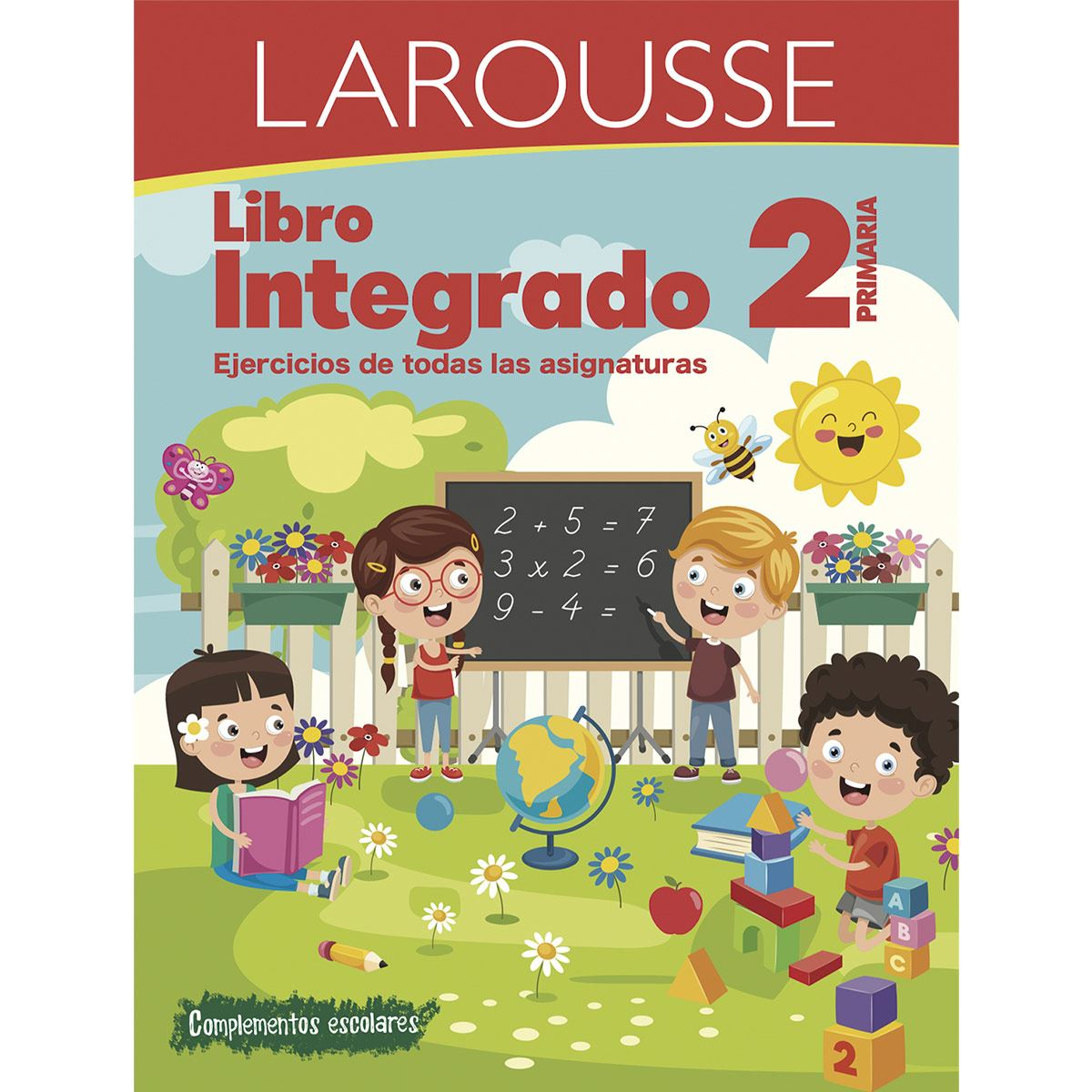 Libro integrado 2° primaria