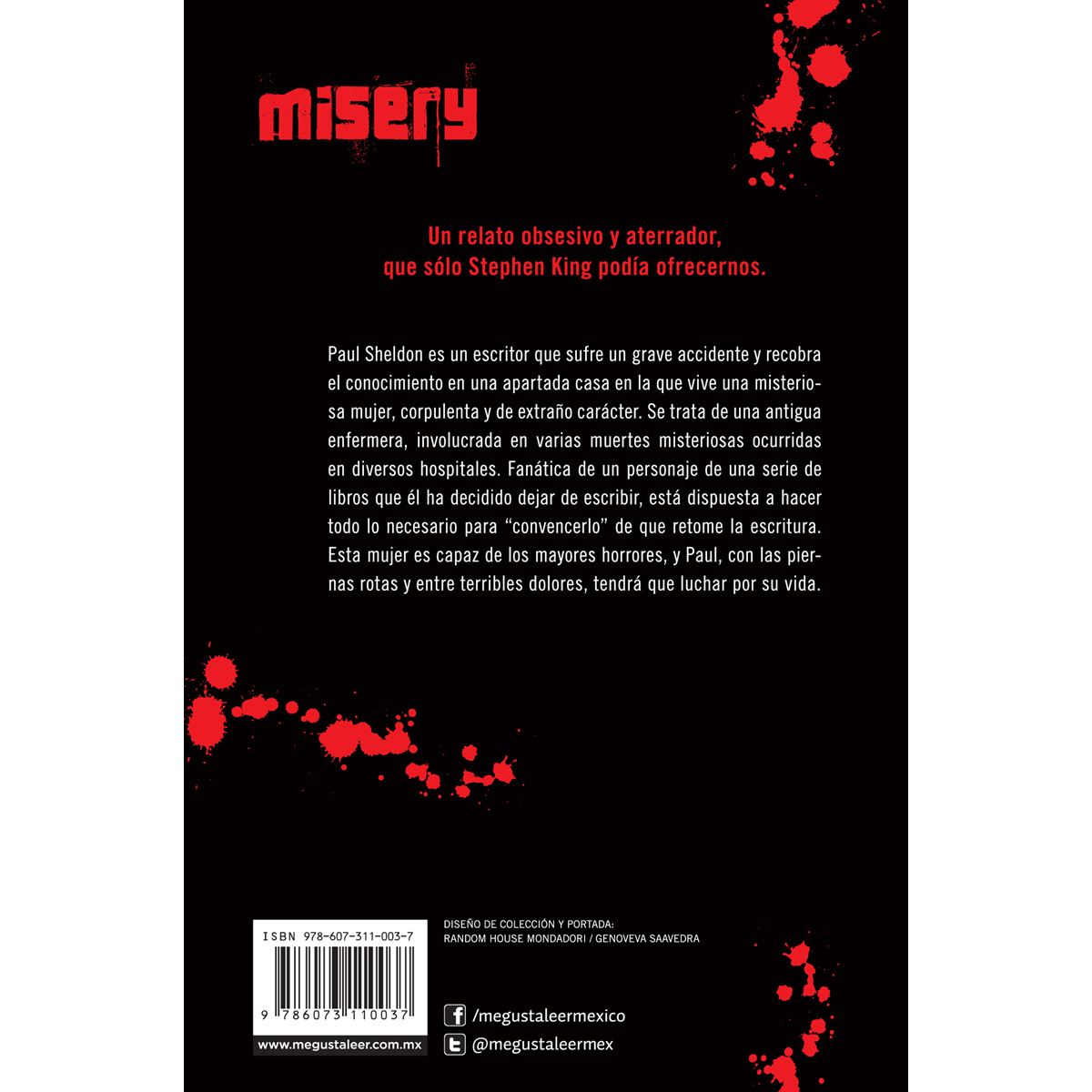 Misery Libro - Sanborns